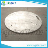Aluminum base plate 600*600mm 24inch for totem truss for events