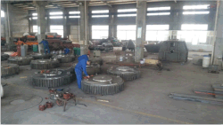 workers are manufacturing electromagnetic separators
