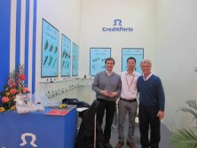 2012 ShangHai Automechanika show-with two Argentina customers