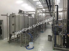 Beverage production line
