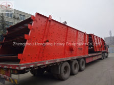 YK2460 vibrating screen drlivery