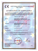 CE ATTESTATION of COMPLIANCE