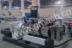 Plate type hydraulic screenchanger used for recycling machine