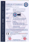 CE certification of electric furnace