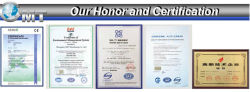 Our Honour and Certification