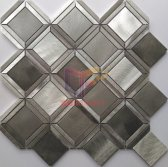 Aluminum diamond metal modern design with color mixed(CFA149)