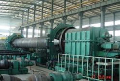 Ohamitech International Company ( ESSAR ,India ) -- 2540 Pipe Ends Flattening & Chamfering Machine