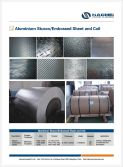 Aluminium stocco embossed sheet /coil