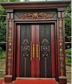 New sample villa door