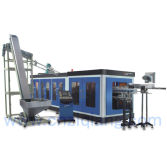 Full Automatic Pet Stretch Blow Moulding Machine With Rotary Preform Loading