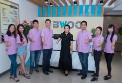 The unity of team from BWOO company
