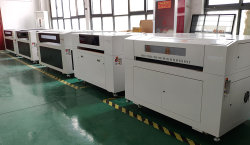 CO2 laser cutting machine factory