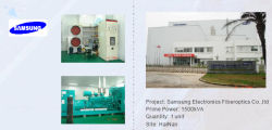 Generator for Sansung factory