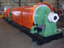 Tube type stranding machine