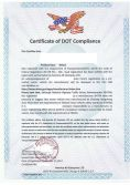 DOT American market certification