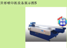 Special shape spray printing equipment 05