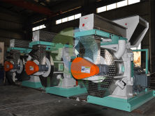 Our wood pellet mill workshop