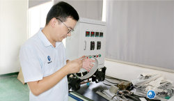 Quality inspection of diamond sanding belt