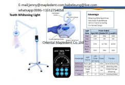 Dental teeth whitening machine