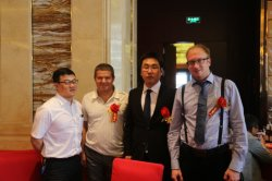VIP customers in Heijingang with Director Larry and Andy