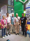 with dubai customer in shanghai cycle fair