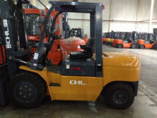 3.5T diesel forklift truck sold to our salvador customer
