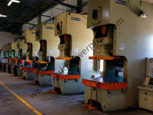 JH21 C frame press are working in customer factory