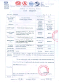 Full Polished Glazed Porcelain Tile Test Reports