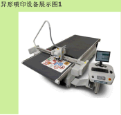 Special shape spray printing equipment 06