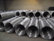oval galvanized wire for farm fencing