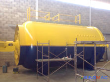 To Venezuela: 2850x4000mm Glass Autoclave in 2014