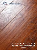 Handscraped with Embossed-in-Register(EIR) HDF Laminate Floor