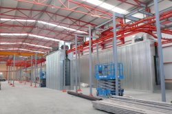 SPAIN POWDER COATING LINE INSTALLATION
