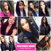 Silky Straight Customers Show