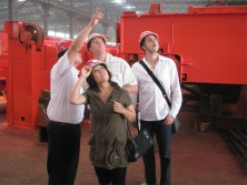 Russian Client Visit for Final Acceptance of Overhead Crane
