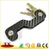 High Quality Carbon Fiber Key Chain and Key Organizer
