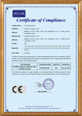CE/Certificate of Compliance