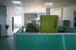 Automatic aging testing line