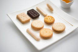 biscuit samples from our biscuit line
