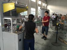 shrink wrapping machine test
