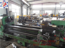 Lathe for machining rod and sheet