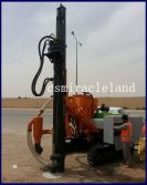 ZGYX-420 Crawler DTH Drilling Rig Construction Site in Saudi Arabia