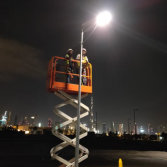Dubai-60w integrated solar street light