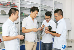 Quality inspection of Superthin Diamond Wire Saw