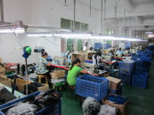 Stitching Department of Protective Gear