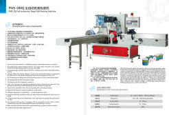 Full-Automatic Paper Roll Packing Machine