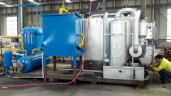 20Ton capacity tyre pyrolysis plant fully continuous pyrolsyis