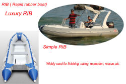 RIB / rapid rubber boat