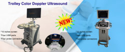 New arrival trolley color doppler ultrasound