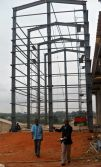 steel structure high rise building project in Ghana